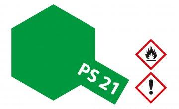 PS-21 Park Grün Polycarbonat 100ml · TA 86021 ·  Tamiya