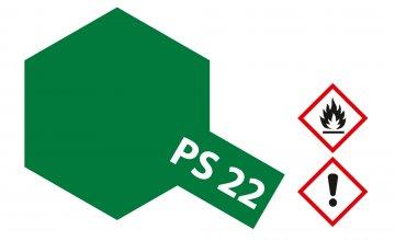 PS-22 Brit. Racing Grün Polycarb. 100ml · TA 86022 ·  Tamiya