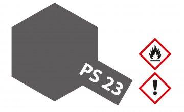 PS-23 Gun Metall Grau Polycarbonat 100ml · TA 86023 ·  Tamiya