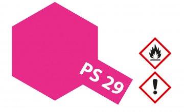 PS-29 Neon Rosarot Polycarb. 100ml · TA 86029 ·  Tamiya
