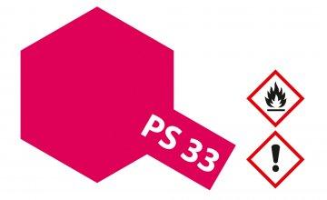 PS-33 Kirschrot Polycarbonat 100ml · TA 86033 ·  Tamiya