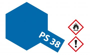 PS-38 Translucent Blau Polyc. 100ml · TA 86038 ·  Tamiya