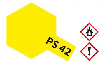PS-42 Translucent Gelb Polyc. 100ml · TA 86042 ·  Tamiya