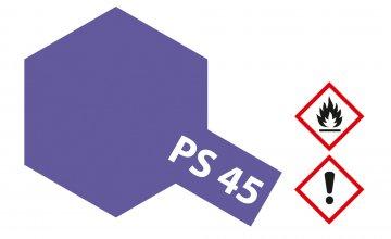 PS-45 Translucent Violett Polyc. 100ml · TA 86045 ·  Tamiya