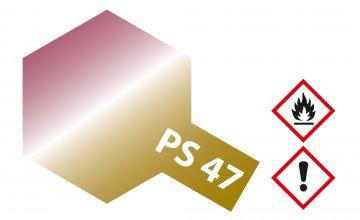 PS-47 Rosarot-Gold schillernd Poly.100ml · TA 86047 ·  Tamiya