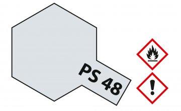 PS-48 Alu-Silber (Chrom) Polyc. 100ml · TA 86048 ·  Tamiya