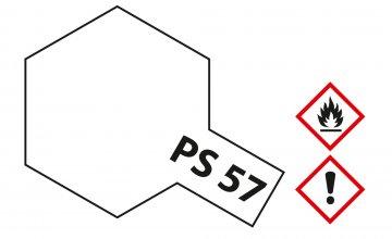 PS-57 Perleffekt Weiss Polyc. 100ml · TA 86057 ·  Tamiya