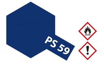 PS-59 Dkl. Metallic Blau Polycarb. 100ml · TA 86059 ·  Tamiya
