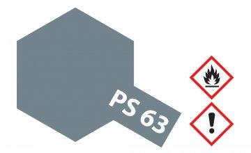 PS-63 Hell Gun Metall Grau Polyc. 100ml · TA 86063 ·  Tamiya