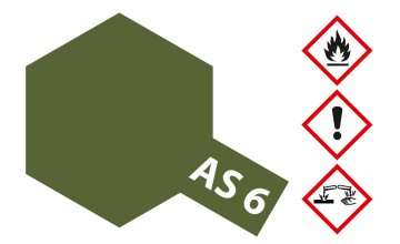 AS-6 Braunoliv matt (USAAF) 100ml · TA 86506 ·  Tamiya