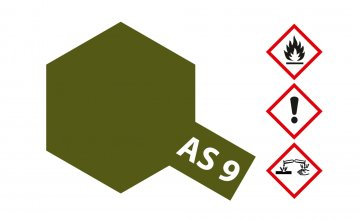 AS-9 Dunkelgrün matt (RAF) 100ml · TA 86509 ·  Tamiya