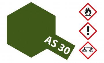 AS-30 Dunkelgrün 2 matt (RAF) 100ml · TA 86530 ·  Tamiya