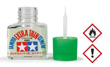 Tamiya Extra Thin Cement/Plastikkleber 40ml · TA 87038 ·  Tamiya