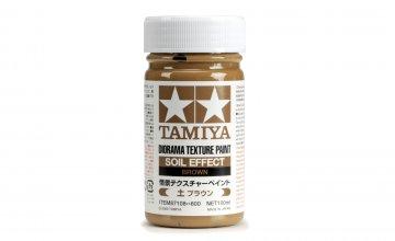 Diorama Textur Farbe Erde-Effekt Braun · TA 87108 ·  Tamiya