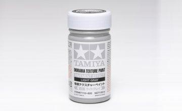 Diorama Textur Farbe Beton-Eff.Hell Grau · TA 87116 ·  Tamiya