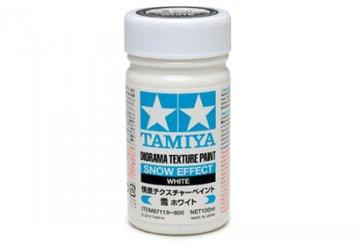 Diorama Textur Farbe Schnee-Effekt Weiss · TA 87119 ·  Tamiya