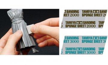 TAMIYA Schleifschwamm 2000er Körnung · TA 87170 ·  Tamiya