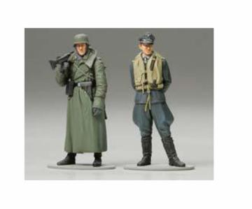German Machine Gunner + Luftwaffen Pilot · TA 89641 ·  Tamiya · 1:35