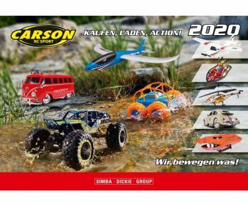 CARSON RC-Sport+ DE/EN 2020 · TA 990264 ·  Tamiya