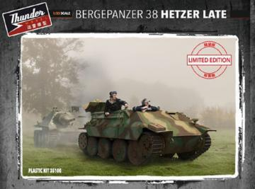 Bergepanzer 38 Hetzer Late (Limited Edition) · THM 35100 ·  Thundermodels · 1:35