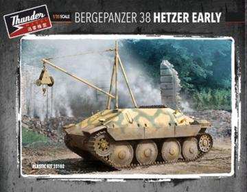 Bergepanzer 38 Hetzer Early · THM 35102 ·  Thundermodels · 1:35