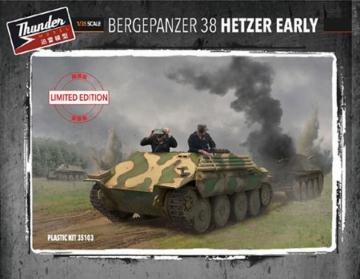 Bergepanzer Hetzer Early (Limited Edition) · THM 35103 ·  Thundermodels · 1:35
