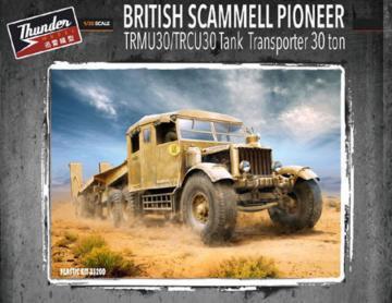 British Scammell Pioneer TRMU/TRCU30 Tank Transporter · THM 35200 ·  Thundermodels · 1:35