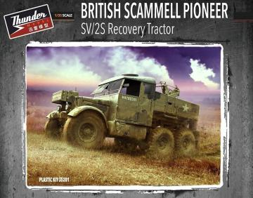 British Scammell Pioneer SV/2S Recovery Tractor · THM 35201 ·  Thundermodels · 1:35