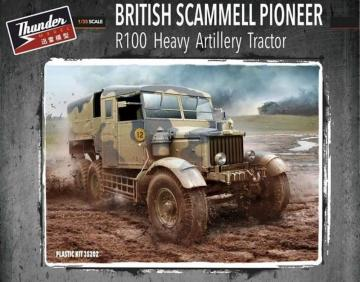 British Scammell Pioneer R100 artillery Tractor · THM 35202 ·  Thundermodels · 1:35