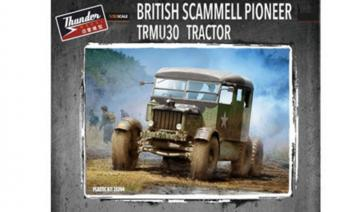British Scammell Pioneer TRMU30 Tractor · THM 35204 ·  Thundermodels · 1:35