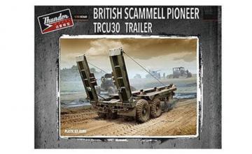 British Scammell Pioneer TRCU30 Trailer · THM 35205 ·  Thundermodels · 1:35
