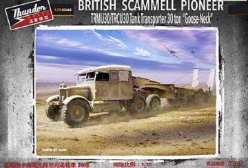 Scammell Pioneer TRMU30/TRCU30 Tank Transporter Goose-Neck · THM 35207 ·  Thundermodels · 1:35
