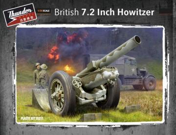 British 7.2 Inch Howitzer · THM 35211 ·  Thundermodels · 1:35
