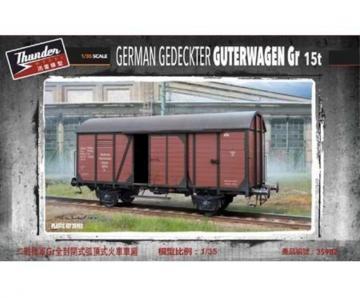 German gedeckter Güterwagen Gr type 15t · THM 35902 ·  Thundermodels · 1:35