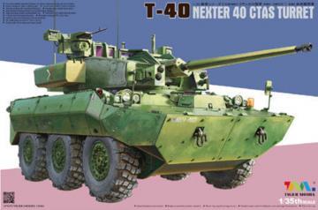 T-40 Nexter 40 CTAS Turret · TM 4665 ·  Tigermodel · 1:35