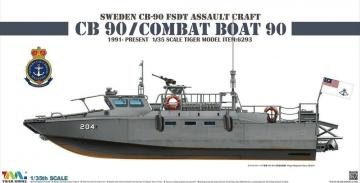 Sweden CB-90 FDST Assault Craft CB 90/ Combat Boat 90 · TM 6293 ·  Tigermodel · 1:35