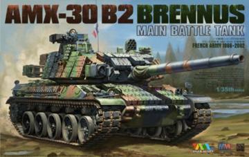 AMX-30 B2 BRENNUS Main Battle Tank · TM TG4604 ·  Tigermodel · 1:35