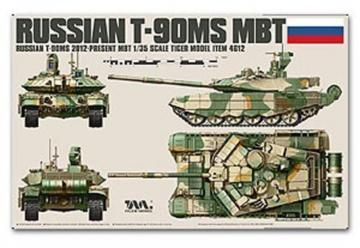 Russian T-90MS MBT · TM TG4612 ·  Tigermodel · 1:35