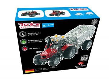 Massey Ferguson MF5610 mit Anhänger · TR 10031 ·  Tronico · 1:32