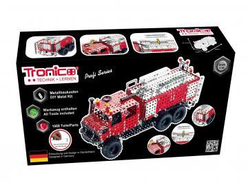 Unimog Feuerwehr · TR 10432 ·  Tronico · 1:16