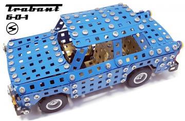 Trabant S601 2-in-1 Metallbaukasten · TR 9570 ·  Tronico · 1:64