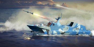PLA Navy Type 22 Missile Boat · TRU 00108 ·  Trumpeter · 1:144