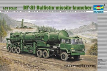 Chinesischer Raketenwerfer DF-21 · TRU 00202 ·  Trumpeter · 1:35