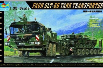 FAUN Elefant SLT-56 Panzer-Transporter · TRU 00203 ·  Trumpeter · 1:35