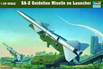 SA-2 Guideline Missile w/Launcher Cabin · TRU 00206 ·  Trumpeter · 1:35