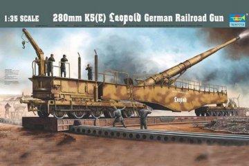 Eisenbahngeschütz Leopold 280mm K5 (E) · TRU 00207 ·  Trumpeter · 1:35