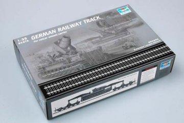 German Railway Track Set · TRU 00213 ·  Trumpeter · 1:35