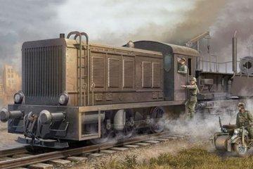 German WR 360 C12 Locomotive · TRU 00216 ·  Trumpeter · 1:35
