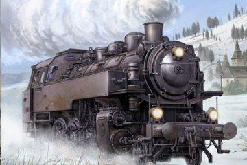 Dampflokomotive BR86 · TRU 00217 ·  Trumpeter · 1:35