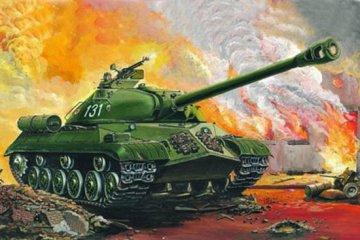 Russischer schwerer Panzer IS-3 M · TRU 00316 ·  Trumpeter · 1:35